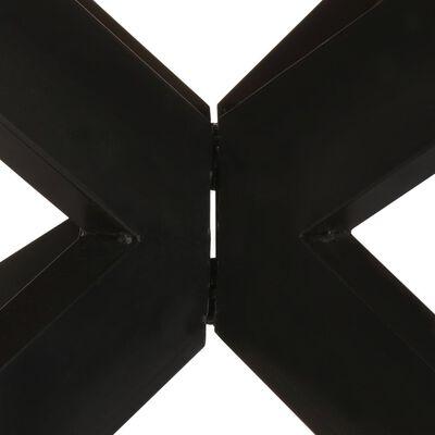 vidaXL Mesa de comedor madera maciza reciclada redonda 175x75 cm
