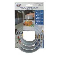 Aro Emplatar Plastico Set 4 U - FERVIK - 140