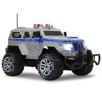 Jamara Coche de policía blindado teledirigido Monstertruck 1:12