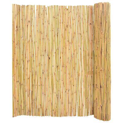 vidaXL Valla de bambú 250x170 cm