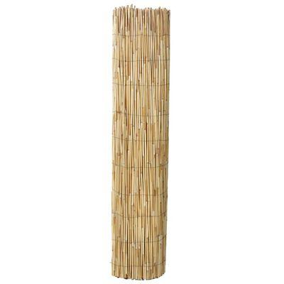 vidaXL Valla de cañizo de junco de jardín 500x125 cm
