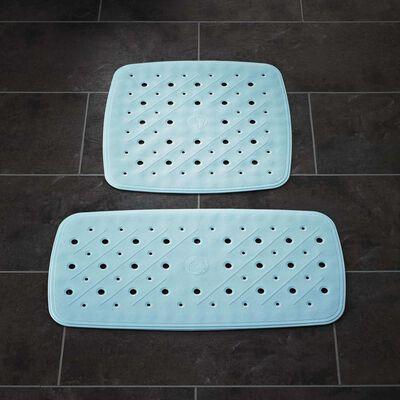 RIDDER Alfombrilla para ducha antideslizante Promo azul claro