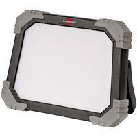 Brennenstuhl Foco solar LED móvil DINORA 3000 IP65 24 W