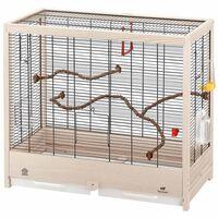 Ferplast Jaula para pájaros Giulietta 5 69x34,5x58 cm 52067117
