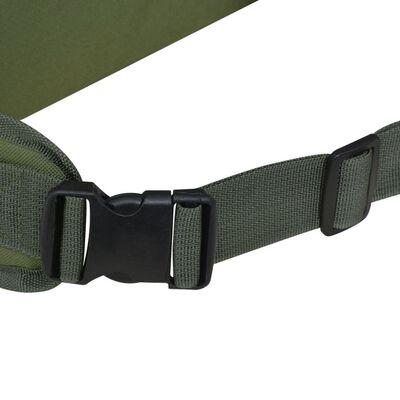 vidaXL Mochila militar 65 L verde