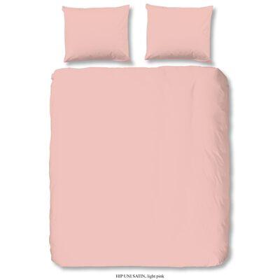 HIP Funda de edredón Uni rosa 200x200/220 cm