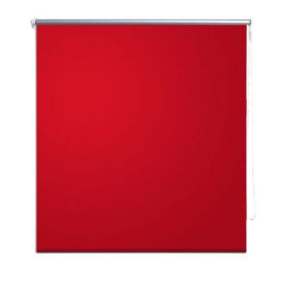 Estor Persiana Enrollable 80 x 230 cm Rojo