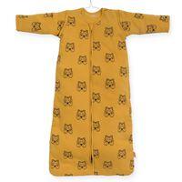 Jollein Saco de dormir para todo el año tigre color mostaza 90 cm