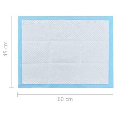 vidaXL Empapadores para mascota 400 unidades 60x45 cm textil no tejido