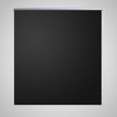 Estor Persiana Enrollable 100 x 230 cm Negro