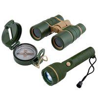 Scout Juego de explorador de 3 piezas verde militar