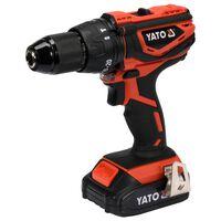 YATO Taladro de impacto con batería de iones de litio 2,0Ah 18 V 40 Nm