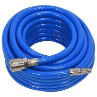 YATO Manguera de aire con acoplamiento de PVC azul 8 mm x 10 m