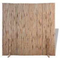 vidaXL Valla de bambú 180x170 cm