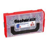 Fischer SX Juego de tacos de pared con tornillos FIXtainer 210 piezas