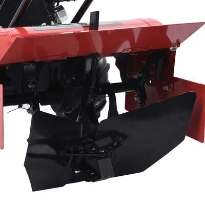 vidaXL Accesorio para arado de metal negro