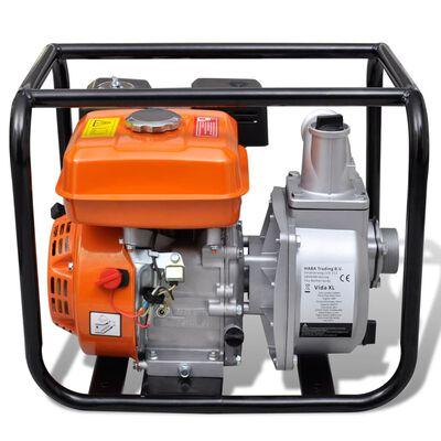 vidaXL Motor de gasolina bomba de agua 50 mm conexión 6,5 HP