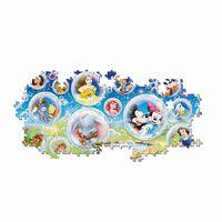 Clementoni Puzle Panorama Disney 1000 piezas