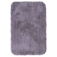 RIDDER Alfombra de baño Chic gris 90x60 cm