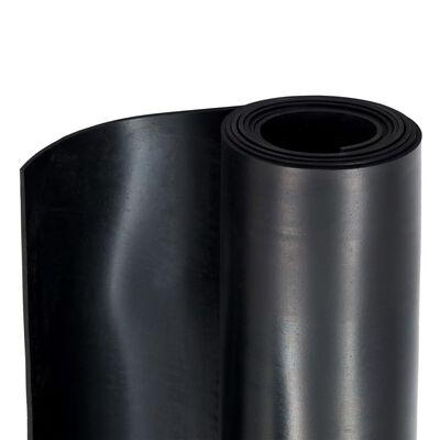 vidaXL Alfombrilla de goma antideslizante 1,2x2 m 3 mm lisa