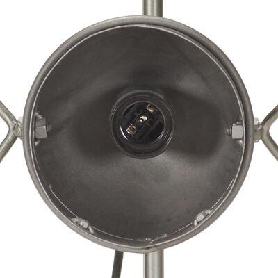 vidaXL Lámpara de pie con diseño de bicicleta hierro