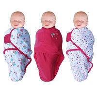 Bo Jungle Arrullos de bebé Flower 3 unidades rosa