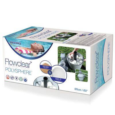 Bestway Bolas filtrantes Flowclear Polysphere 500 g 58475