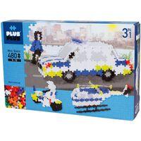 480 piezas básicas 3 en 1 / policía