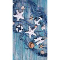 Good Morning Toalla de playa KEVIN azul 100x180 cm