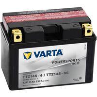 Varta Batería de motocicleta Powersports AGM TTZ14S/TTZ14-BS