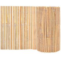 vidaXL Valla de bambú de jardín 1000x50 m