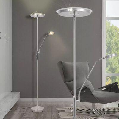 vidaXL Lámpara de pie LED regulable 23 W