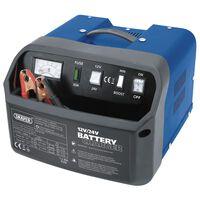 Draper Tools Cargador de batería 28,5x28x20 cm 12/24 V 15 A