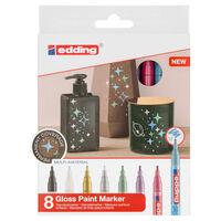 edding Rotulador de pintura brillante 8 unidades multicolor 751