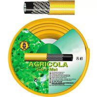 """Manguera Amarillo Hidro Mat 30 mm. - 1 1/4"""" Rollo 25 Metros"""