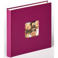 Walther Design Álbum de fotos Fun violeta 100 páginas 30x30 cm