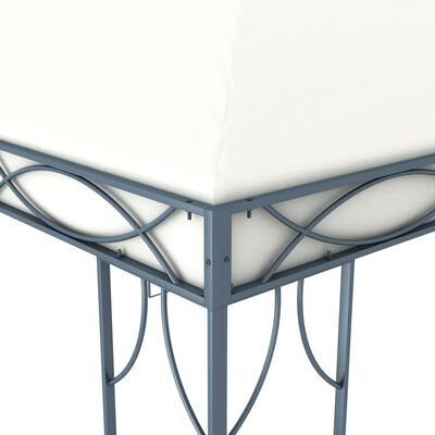vidaXL Cenador color crema 400x300 cm