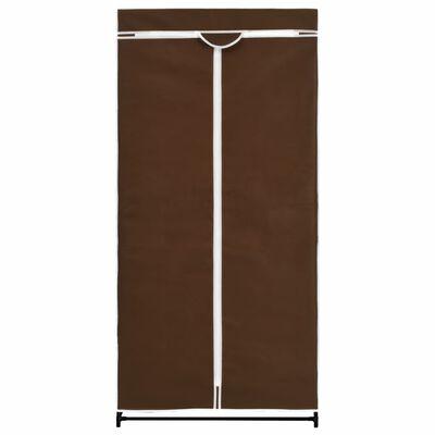 vidaXL Armario marrón 75x50x160 cm