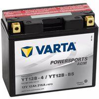 Varta Batería de motocicleta Powersports AGM YT12B-4/YT12B-BS