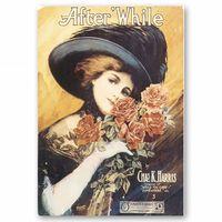 Portada de Música After'While - Cuadro Lienzo, Impresión Digital