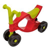 BIG Flippi Bicicleta sin pedales roja y verde