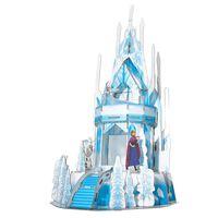 Frozen 2 Puzzle 3D Ice Palace 47 piezas azul translúcido