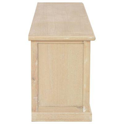 vidaXL Mueble para TV de madera 120x30x40 cm