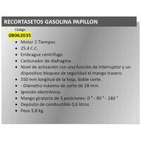 Recortasetos Gasolina 550 mm. / 25 C.C. Giratorio