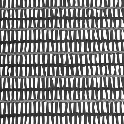 vidaXL Red de privacidad HDPE gris antracita 1x25 m 150 g/m²