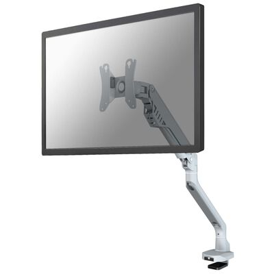 "NewStar Soporte de escritorio pantalla 10""-32"" ajustable 47 cm plata"