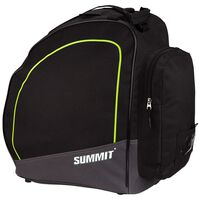 Summit Bolsa para botas de esquí negro y amarillo fluorescente