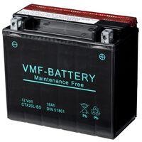Batería motocicleta VMF Powersport Liquifix 12V 18AhMF YTX20L-BS