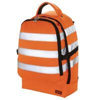 Toolpack Mochila de herramientas alta visibilidad Guard naranja negro