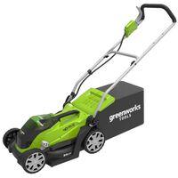 Greenworks Cortacésped sin batería de 40 V G40LM35 2501907